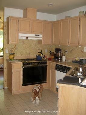 Garden View Kitchen Remodel Entertaining Marmoleum Click