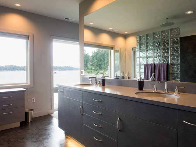 Town House Remodel Bathroom Kitsap County 98110 Bainbridge
