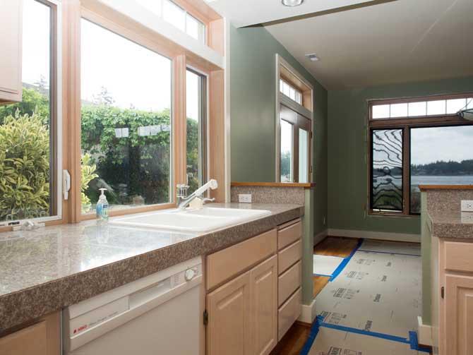 Town House Remodel Kitchen Remodeling Kitsap County