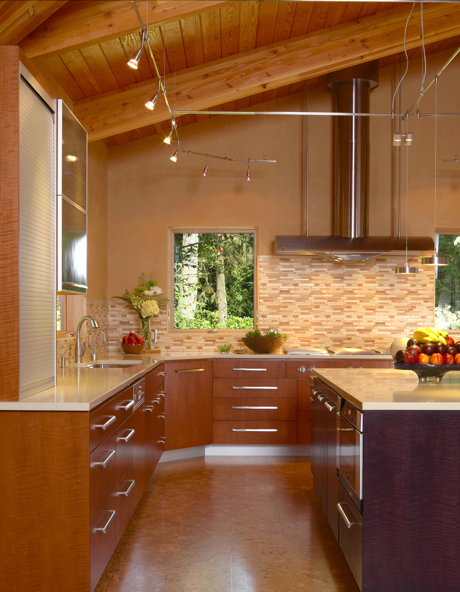 Kitchen remodeling kitsap county 98110 bainbridge island for Anigre kitchen cabinets
